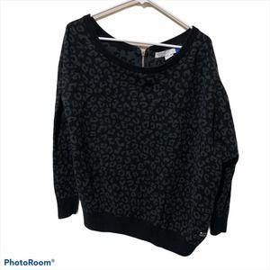 Adidas Originals Cheetah Print Sweater